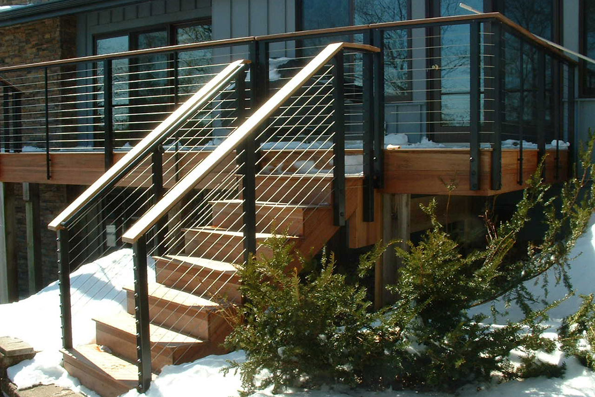 Cable Rail Decking